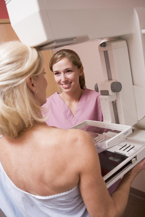 Opis badania mammograficznego